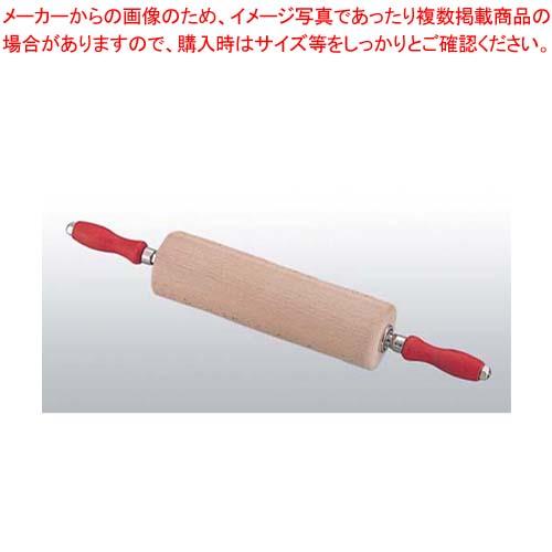 【まとめ買い10個セット品】 【 業務用 】TH 木製 ローリングピン 44925 35cm
