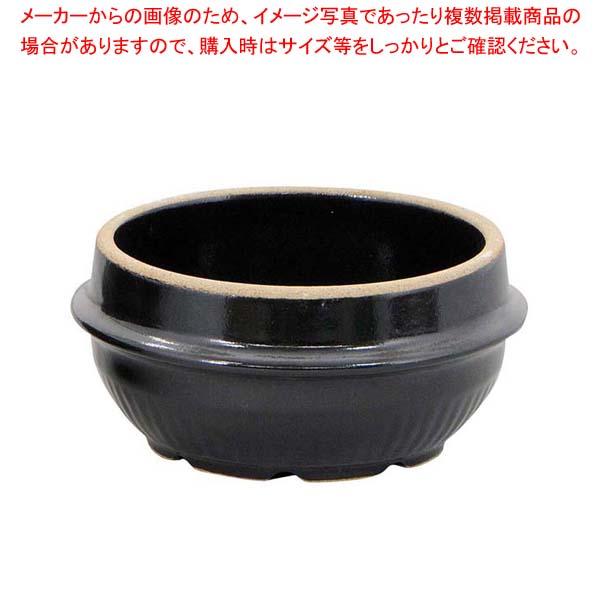 【まとめ買い10個セット品】 【 業務用 】耐熱陶器 チゲ鍋(上釉薬無し)17.5cm