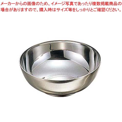 【まとめ買い10個セット品】 【 業務用 】朝鮮食器 18-8 極厚 汁碗 φ135×H49