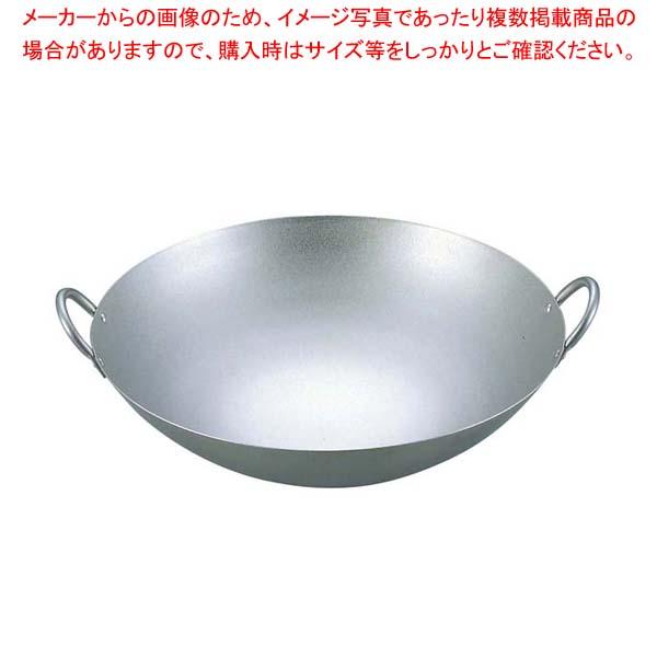 【 業務用 】EBM 純チタン 超軽量 中華両手鍋 33cm【 チタン製中華鍋フライパンチタン製品 】