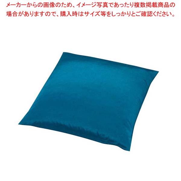 【まとめ買い10個セット品】 【 業務用 】まだら織り座布団 カバー丈 PME0001 大 藍ねず【 メーカー直送/代金引換決済不可 】