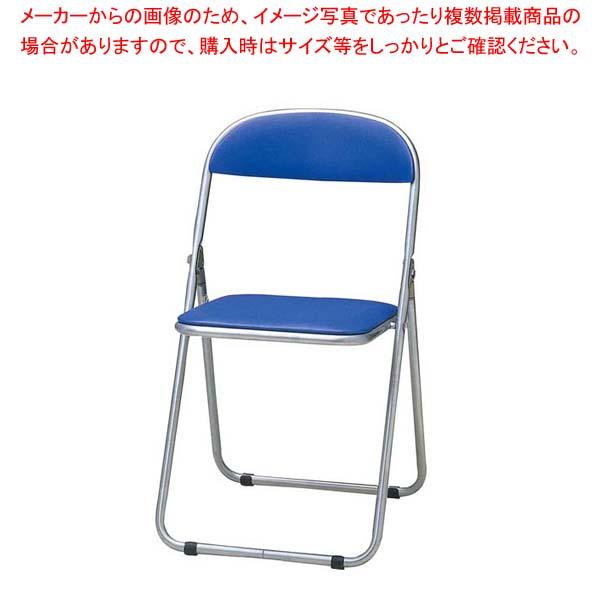 【まとめ買い10個セット品】 【 業務用 】折りたたみ椅子 CF-100T(6脚入)ブルー【 メーカー直送/代金引換決済不可 】