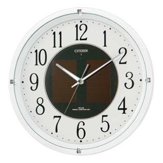 シチズン ソーラー電波掛時計 エコライフ M806【 メーカー直送/後払い決済不可 】 【厨房館】