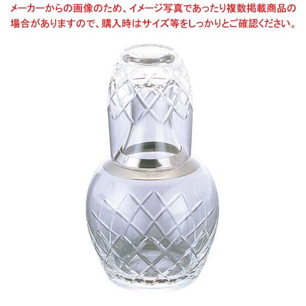 【まとめ買い10個セット品】 【 業務用 】ガラス 冠水瓶 NO.3183 600cc クリア 矢来カット