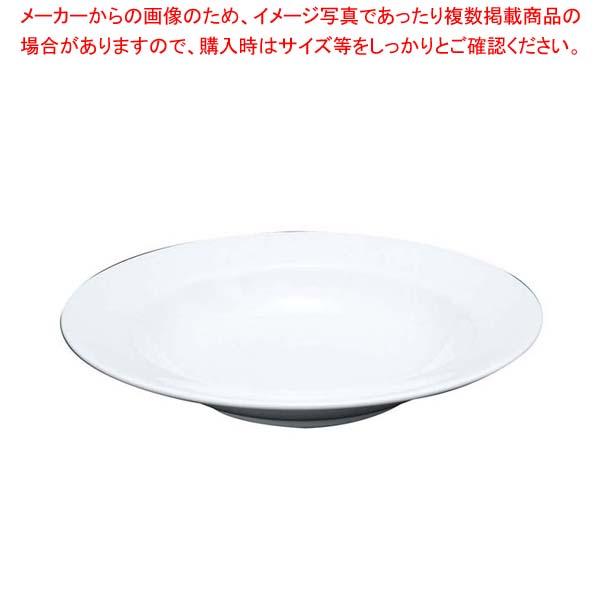 【まとめ買い10個セット品】ファッションホワイト 23cm スーププレート FM900-222【 和・洋・中 食器 】 【厨房館】