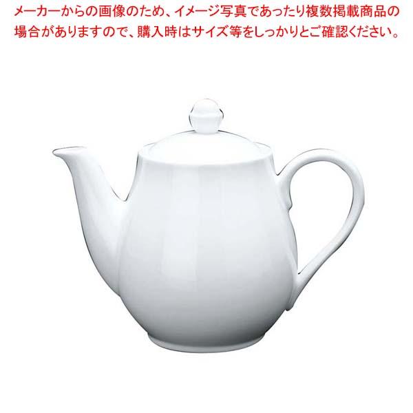 【まとめ買い10個セット品】ファッションホワイト ティーポット FM900-820【 和・洋・中 食器 】 【厨房館】