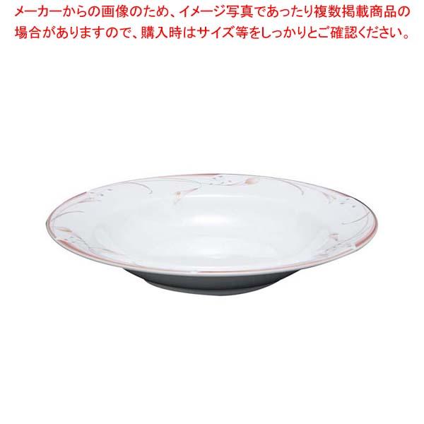 【まとめ買い10個セット品】 【 業務用 】フラワーピンク 23cm スーププレート OFM01-222