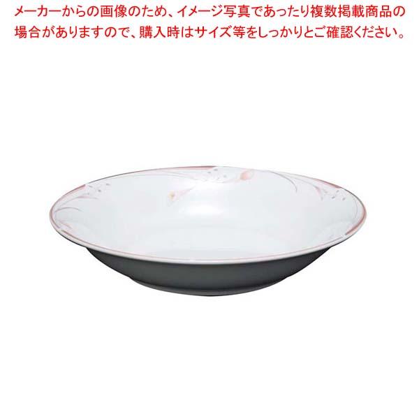 【まとめ買い10個セット品】 【 業務用 】フラワーピンク 19cm スーププレート OFM01-220