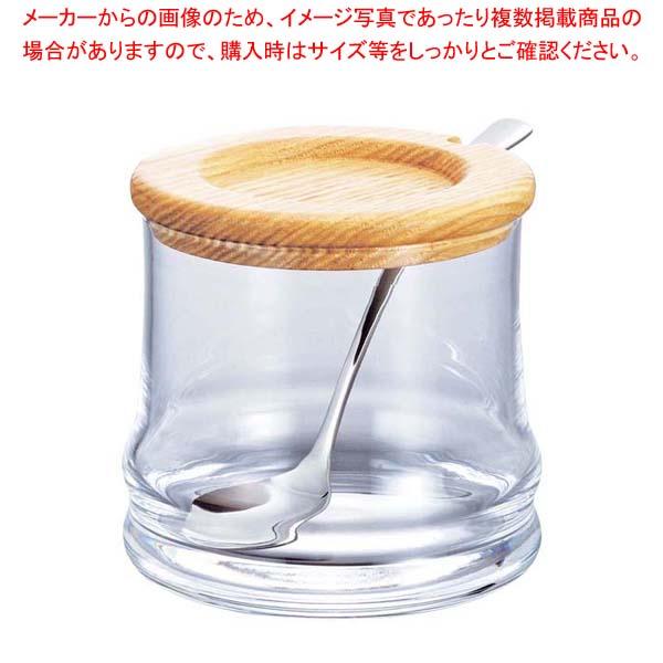 【まとめ買い10個セット品】 【 業務用 】ガラス シュガーポット NO.8407W スキ