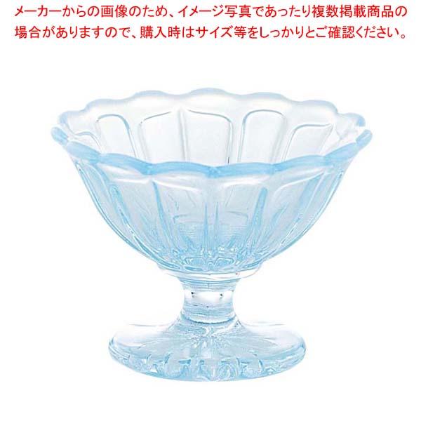 【まとめ買い10個セット品】ミニアイスクリームカップ 雪の花 2232 ガラス製【 ブレンダー・ジューサー・かき氷 】 【厨房館】