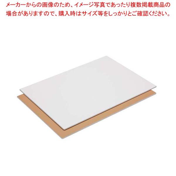 【まとめ買い10個セット品】 【 業務用 】取り板 アルミン軽量タイプ CTL-51300 530型(白)530×380×6.3