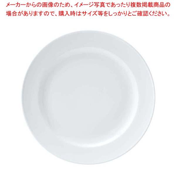 【まとめ買い10個セット品】 【 業務用 】おぎそ 軽量高強度磁器 ミート皿 23cm 1604-0000