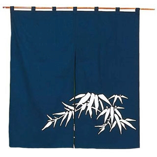 【まとめ買い10個セット品】 【 業務用 】若竹 のれん N110-04 紺 850×900