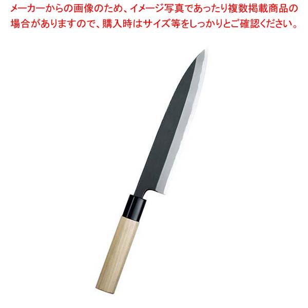 【まとめ買い10個セット品】 【 業務用 】敏幸 改良霞 特製 黒打身卸出刃 27cm