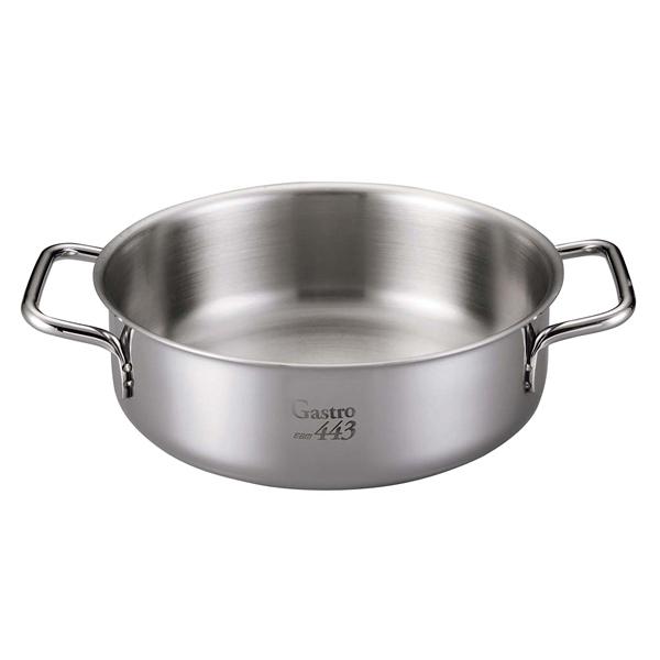 【まとめ買い10個セット品】 【 業務用 】【 即納 】 EBM Gastro 443 外輪鍋(蓋無)32cm