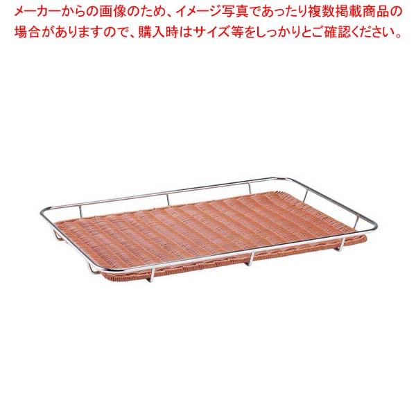 【まとめ買い10個セット品】 【 業務用 】テーパー枠付すのこクローム DS501 40型 ブラウン