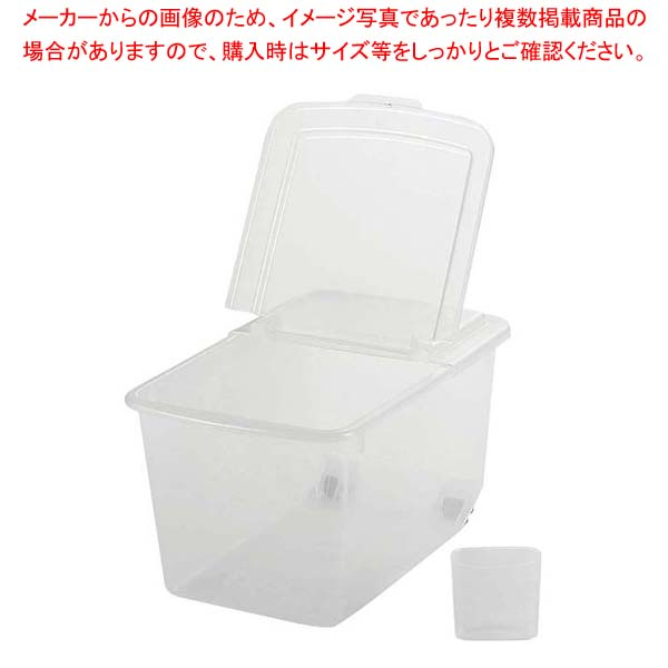 【まとめ買い10個セット品】 【 業務用 】お手軽米びつ 10kg用
