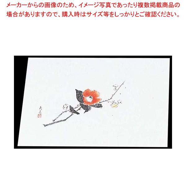 【まとめ買い10個セット品】 【 業務用 】四季紙 萬寿(100枚入)M33-106 梅と椿