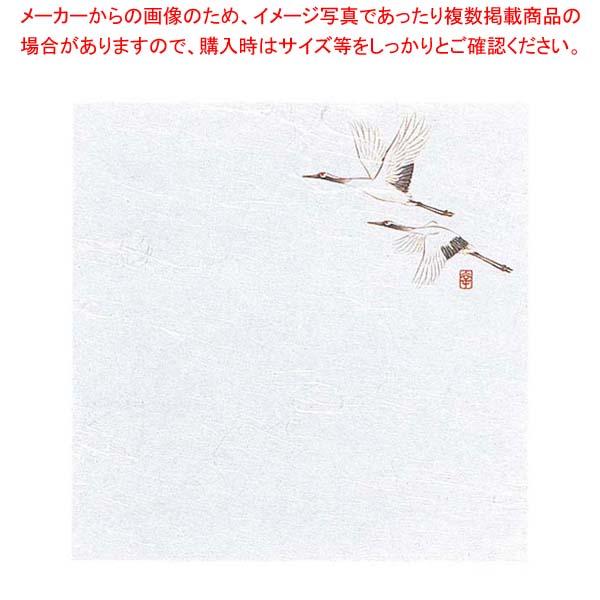 【まとめ買い10個セット品】懐敷 花ごよみ W4-9 鶴(200枚入)4寸 遊膳【 料理演出用品 】 【厨房館】