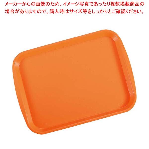 【まとめ買い10個セット品】 【 業務用 】トラエックス ファーストフードトレイ 1216-03 オレンジ