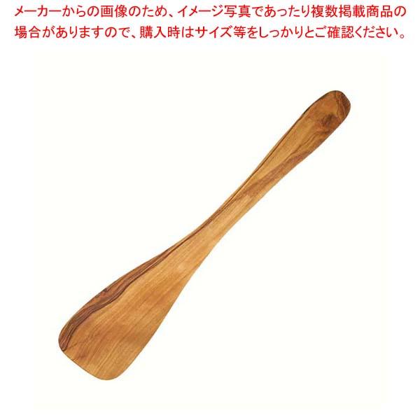 【まとめ買い10個セット品】 【 業務用 】オリーブ スパチュラ 30cm 0125-008