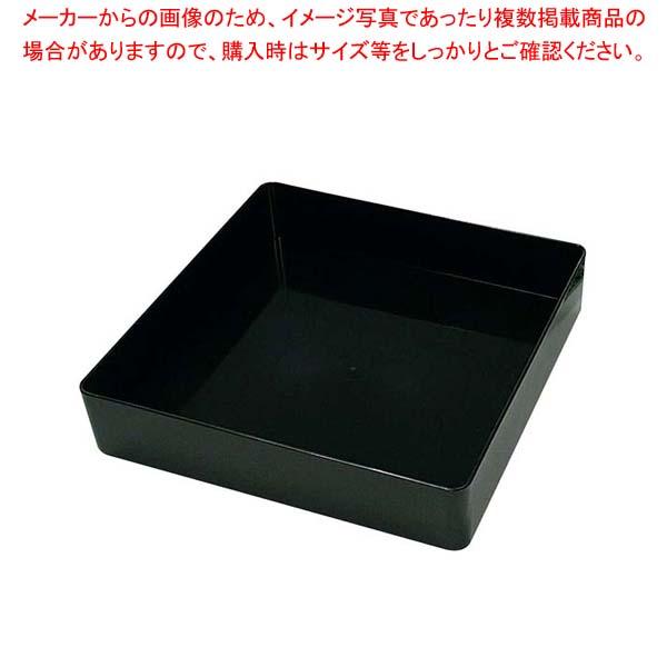 【まとめ買い10個セット品】 【 業務用 】プラ容器 飛鳥 本体(5枚入)8寸50 黒