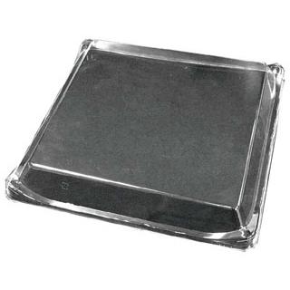 【まとめ買い10個セット品】 【 業務用 】プラ容器 筑後用 正方形 蓋(10枚入)35