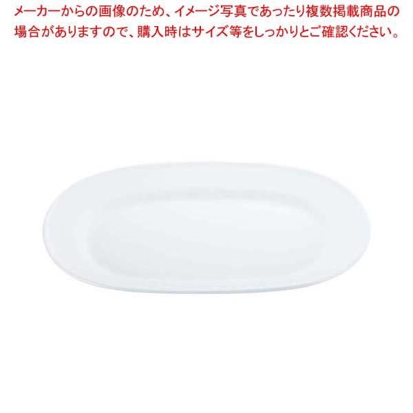 【まとめ買い10個セット品】 【 業務用 】スーパーセラミック 楕円プラター 10inch