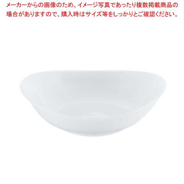 【まとめ買い10個セット品】 【 業務用 】磁器 中華・洋食兼用食器 白オーバルボール 24cm