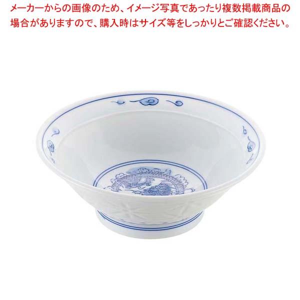 【まとめ買い10個セット品】 【 業務用 】磁器 中華食器 ホタル竜 反丼 7寸