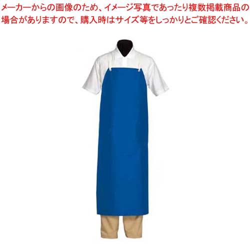 【まとめ買い10個セット品】 【 業務用 】シャバルバ ナイロンエプロン 6690 ブルー
