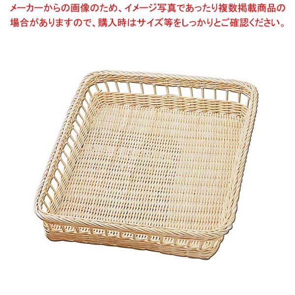 【まとめ買い10個セット品】安心コート 籐製 パンカゴ Y-3-N 300×400×70【 ディスプレイ用品 】 【厨房館】