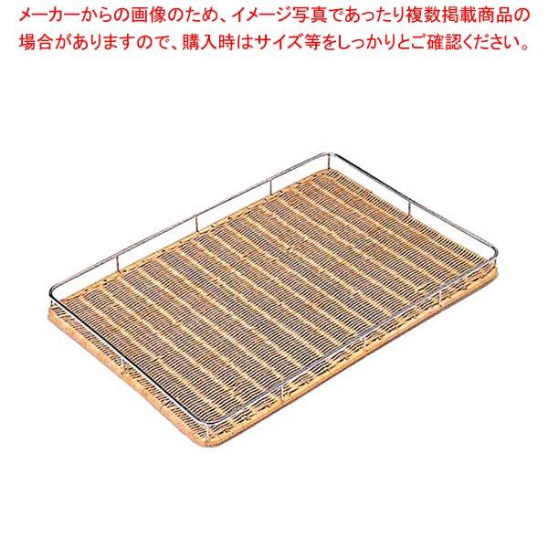 【まとめ買い10個セット品】 【 業務用 】安心コート 籐枠付 すのこ MT-7-S 600×400