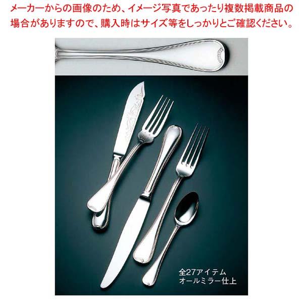【まとめ買い10個セット品】 【 業務用 】LW 18-10 #19300 ティアラ デザートナイフ(H・H)ノコ刃付