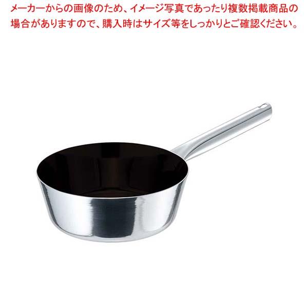 【まとめ買い10個セット品】EBM モリブデンジIIプラス テーパーパン 27cm ノンスティック【 IH・ガス兼用鍋 】 【厨房館】