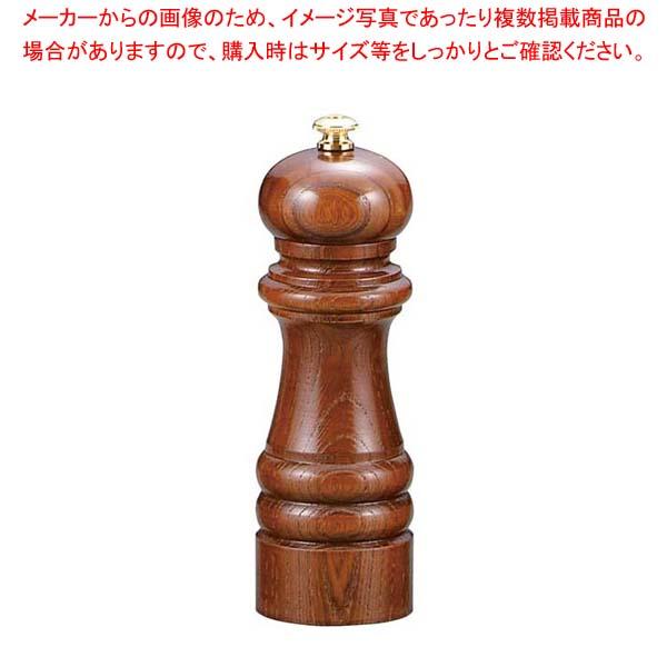 【まとめ買い10個セット品】 【 業務用 】IKEDA ペパーミル(ケヤキ)6103