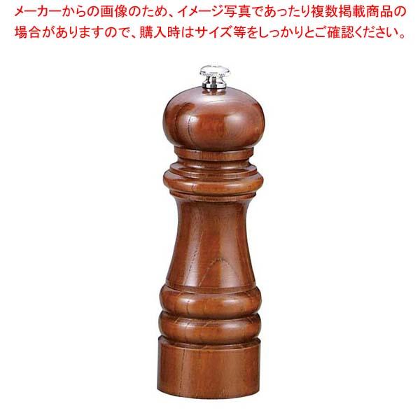 【まとめ買い10個セット品】 【 業務用 】IKEDA ソルトミル(岩塩挽・ケヤキ)6105