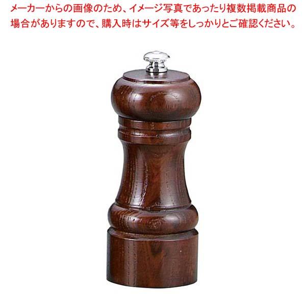 【まとめ買い10個セット品】 【 業務用 】IKEDA ソルトミル(岩塩挽・ケヤキ)4105