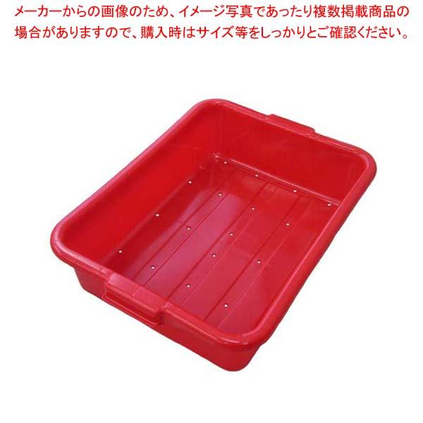【まとめ買い10個セット品】 トラエックス カラーフードストレージドレンボックス 5インチ 1511 レッド(C02) 【厨房館】【 ストックポット・保存容器 】