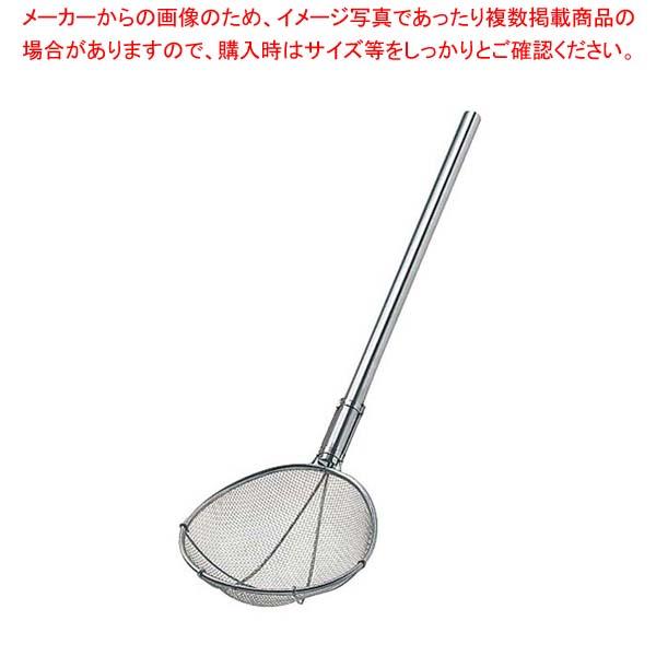 【まとめ買い10個セット品】 【 業務用 】TS 18-8 パイプ柄スイノー型給食用すくい網短柄 2.5メッシュ