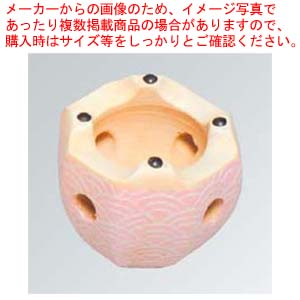 【まとめ買い10個セット品】 【 業務用 】八角コンロ 6号 青海波