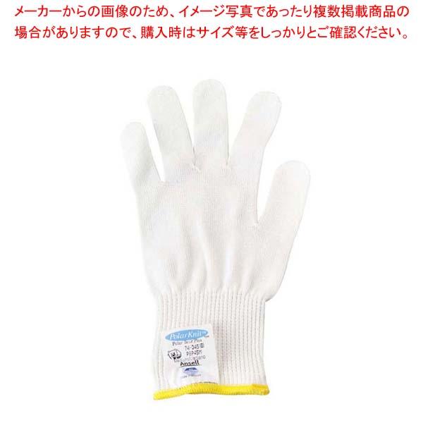 【まとめ買い10個セット品】 【 業務用 】耐切創ポーラベアライト ウェイト手袋 74-045 ホワイト L 1双