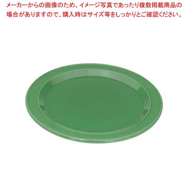 【まとめ買い10個セット品】エミールアンリ ディナープレート 28cm グリーン【 和・洋・中 食器 】 【厨房館】