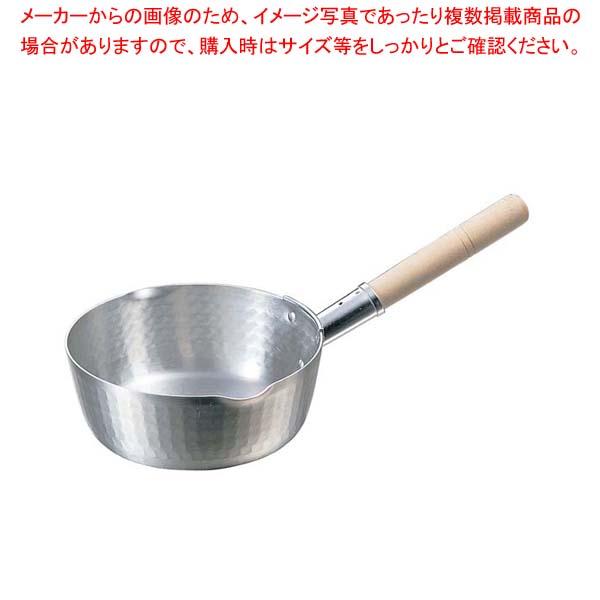 eb-0178600 K アルミ 両口 NEW 打出 鍋全般 人気ブレゼント! 厨房館 16.5cm 雪平鍋