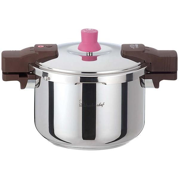 ワンダーシェフ あなたと私の圧力魔法鍋両手 5.5L(ZADA55)640604 【厨房館】