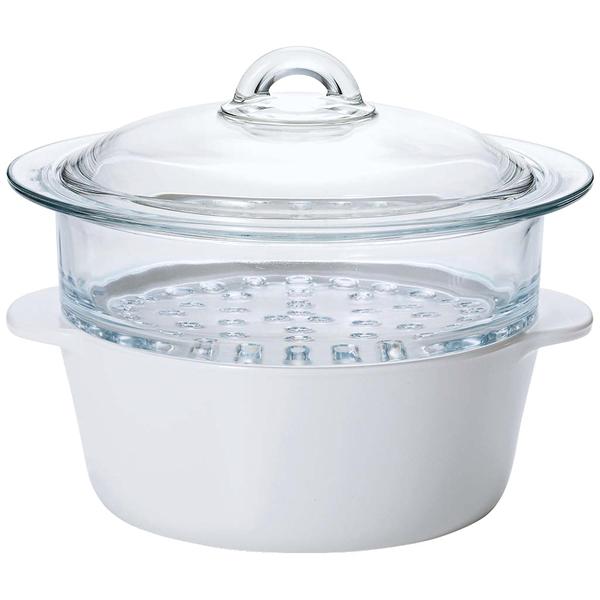 セラベイク ファイア スチーマー ホワイト K-9465 【厨房館】