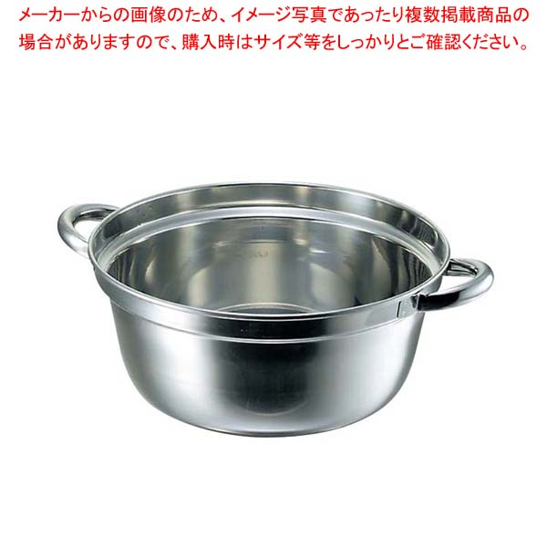 クローバー 18-8 料理鍋 51cm 【厨房館】