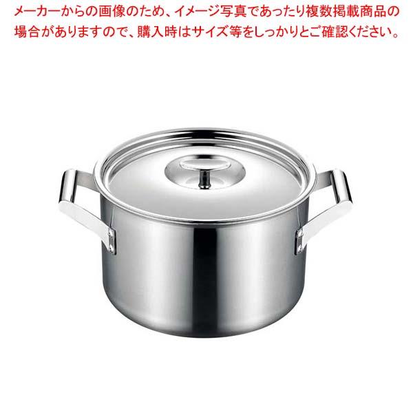 エレックマスタープロ 両手深鍋 24cm 【厨房館】