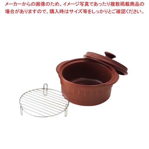 IH ニュートーセラム鍋 26cm TSR-190AM-S セピア 【厨房館】
