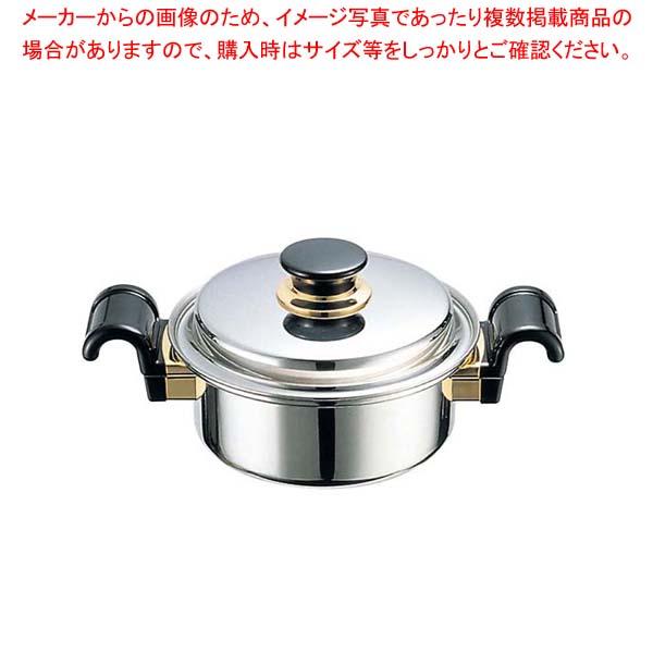 サバティーニ 両手鍋 19cm 【厨房館】